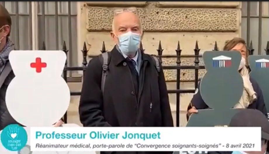 Intervention du Professeur Olivier Jonquet.